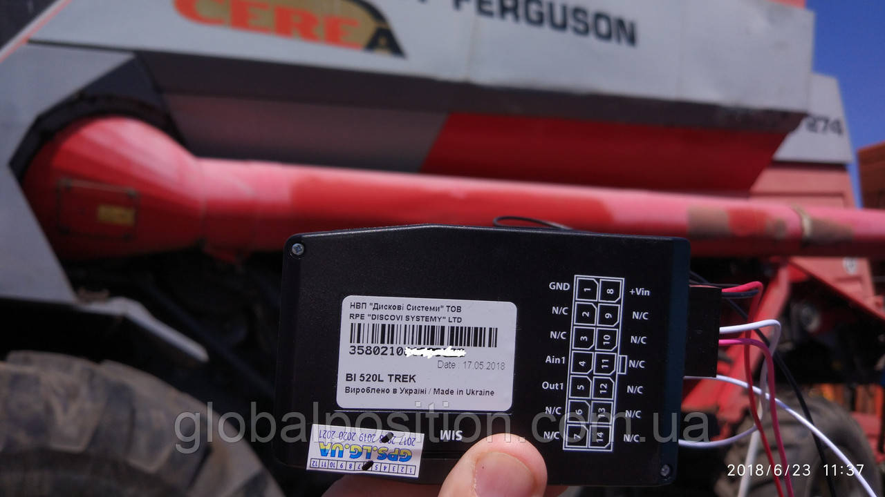 Монтаж GPS трекера