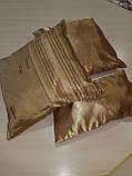 Комплект подушек  стелла с полоской золото 3шт, фото 3