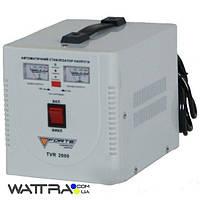 ⭐ Стабилизатор 2 кВт Forte TVR-2000VA релейный, однофазный