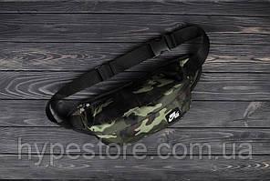 Мужская поясная сумка, бананка ТОП-качества Nike Air (камуфляж)