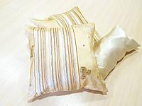 Комплект подушек  стелла с полоской молочная 3шт, фото 1