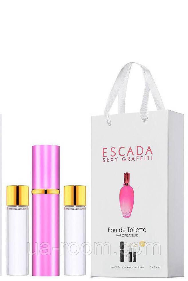 Мини-парфюм женский Escada Sexy Graffiti , 3х15 мл