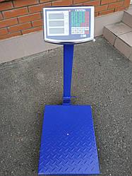 Весы торговые CRYSTAL на 300 кг (40*50)