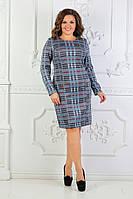 Женское нарядное платье увеличенных размеров 50-60, фото 1