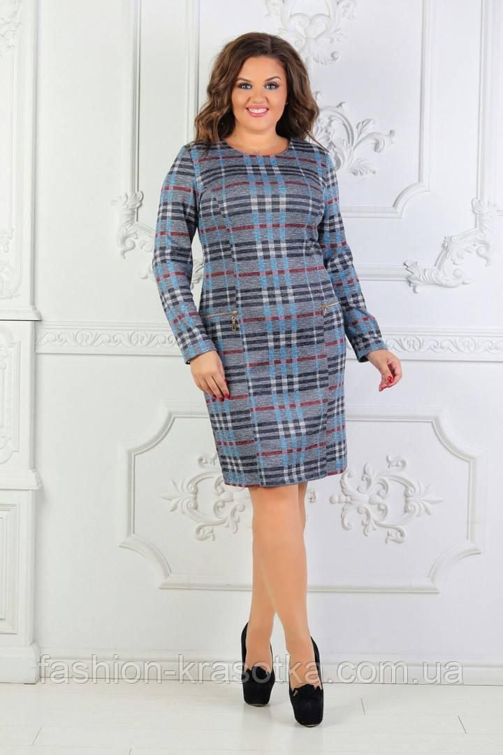 Женское нарядное платье увеличенных размеров 50-60