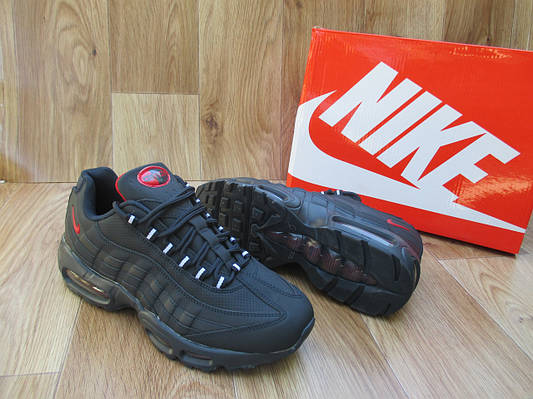 Мужские Кроссовки в стиле Nike Air Max 95 синие нубук