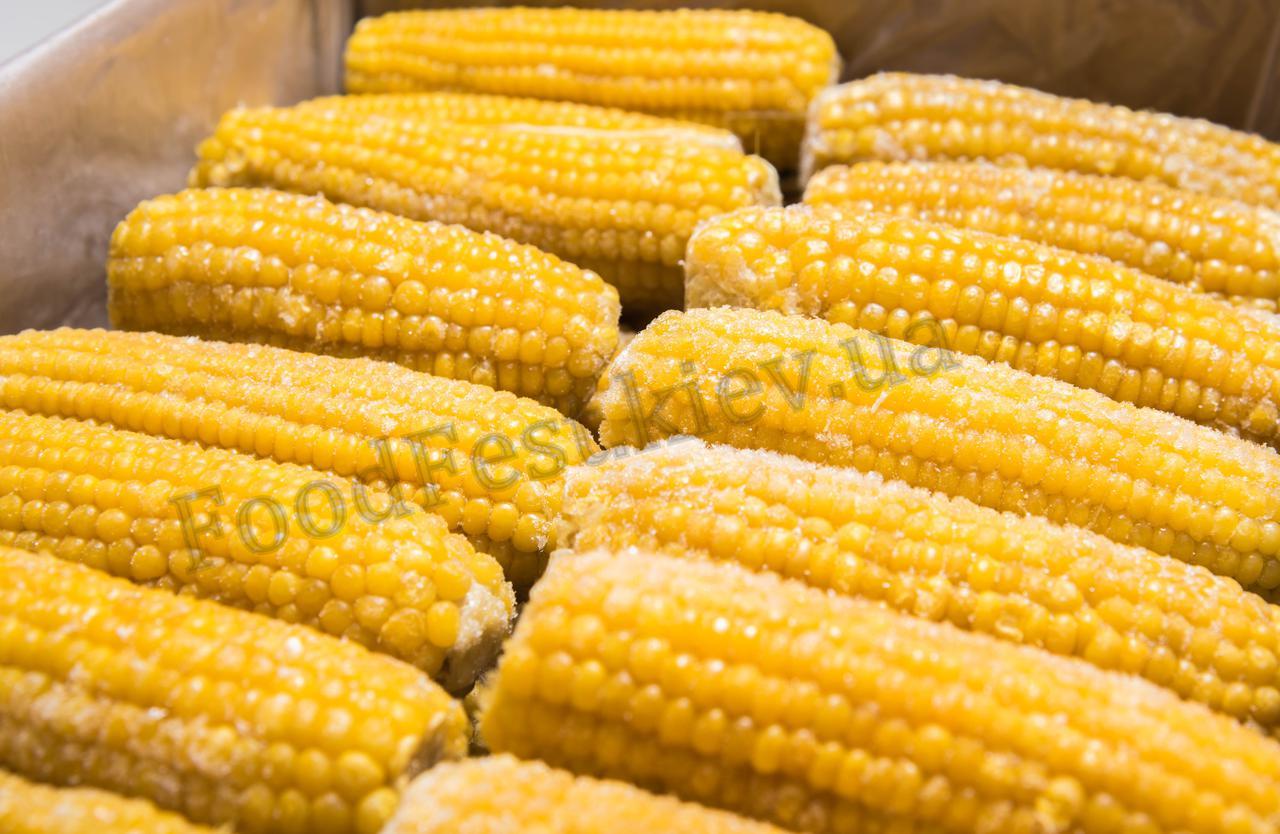 Кукуруза замороженная (початки), фасовка от 9кг