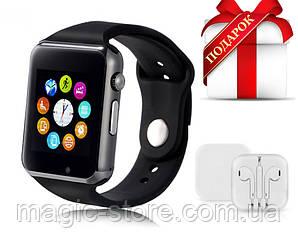 Смарт-часы Smart Watch A1, черный