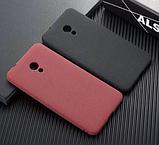 Матовый силиконовый Soft-tuch чехол для Meizu Pro 6 Plus / Стекла есть в наличии /, фото 2