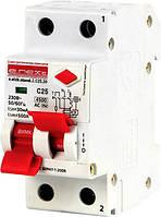 Выключатель дифференциального тока(дифавтомат) e.elcb.stand.2.C25.30. 2p,25А,C.30mA  с раздельной рукояткой.