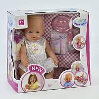Пупс функциональный, Warm Baby, 8 функций, аксессуары ,в коробке