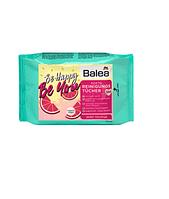 Очищающие салфетки Balea Reingungstücher be happy be you LE, 25шт