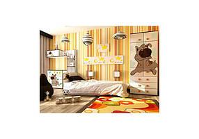 Детская спальня Джой вариант №1 Ваниль (Luxe Studio TM)