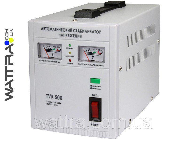 ⭐ Стабилизатор 500 Вт Forte TVR-500Va Релейный, однофазный