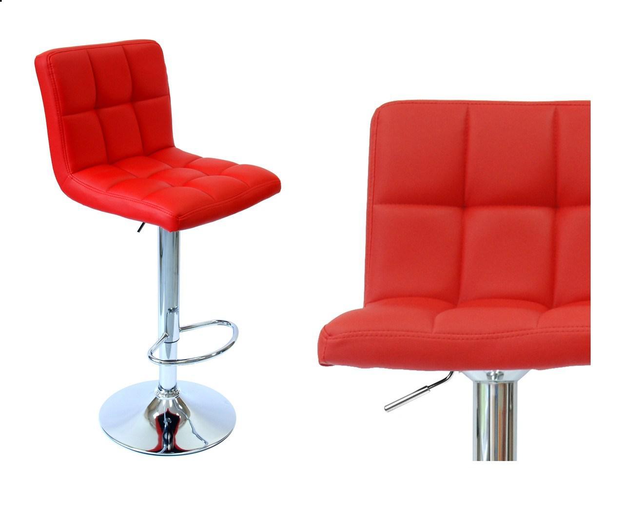 Табурет барний стілець барний стілець крісло для кухні Hoker червоний