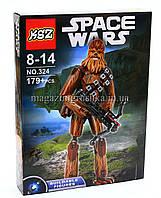 Конструктор Звёздные войны Star Wars Space Wars арт. 324 Чубакка CHEWBACCA 179 дет., фото 1