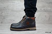 Мужские кожаные ботинки GSL , фото 1