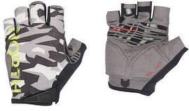 Велорукавиці North Wave Blaze Short gloves чорний/сірий (С8916207992)