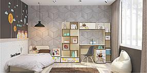 Детская спальня Джой вариант №2 Ваниль (Luxe Studio TM)