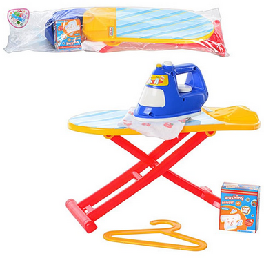 Детская игровая бытовая техника.Набор с гладильной доской.Игрушки для девочек.