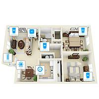 Беспроводная сигнализация для квартиры 6 датчиков