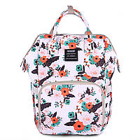 Сумка - рюкзак для мамы Цветы ViViSECRET, фото 1