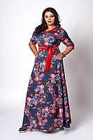 Длинное женское платье , фото 1