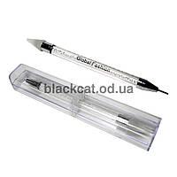 Восковый карандаш со стразами двусторонний