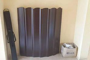 Шифер металлический цветной