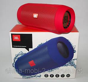 JBL Charge 2+ E2+ 10W копія, блютуз колонка c FM і MP3, червона