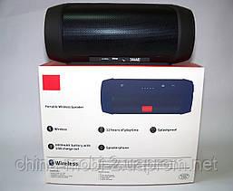 JBL Charge 2+ E2+ 10W копия, блютуз колонка c FM и MP3, черная, фото 3