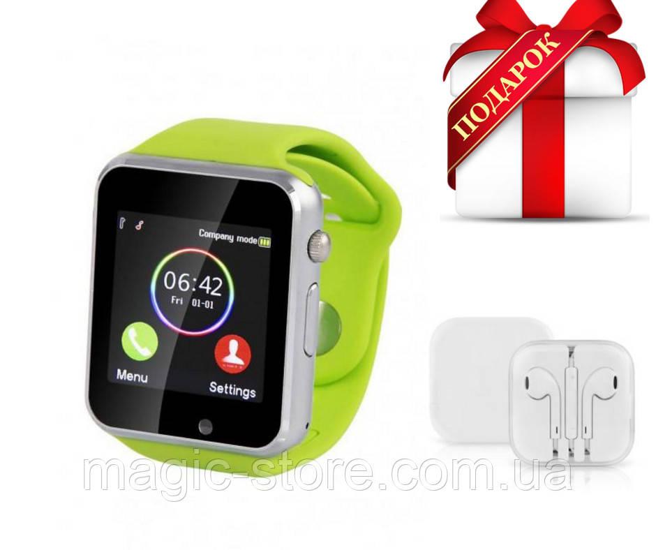Смарт-часы Smart Watch A1, green (салатовый)