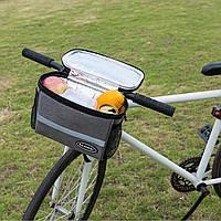 Термо -сумка на руль велосипеда с водонепроницаемым отделением