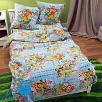 Полуторное детское постельное бельё из бязи ЧЕРЕПАХА (150*220)