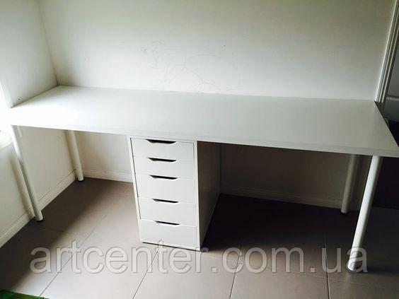 Стіл манікюрний, стіл для майстра манікюру на 2 робочих місця