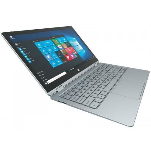 "Ультрабук MEDIACOM FlexBook Edge13, 13.3"" Touch, Intel Celeron N3350(1.2-2.4ГГц), 4ГБ,SSD 32ГБ, Intel HD"