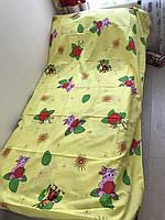 Детский постельный комплект на 1.5 Лунтик