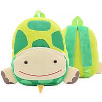 Рюкзак велюровый Черепаха Berni, фото 1