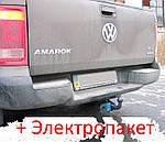 Фаркоп - Volkswagen Amarok Пикап (2010--) из усиленным бампером (дугой)