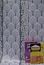 Обои на стену,  бумажные, серый,  В 27,4  Сюжет 6553-10, 0,53*10м, фото 2
