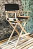Стілець визажный, режисерський стілець, стілець для візажиста складаний, стілець з ясена (модель ЕКО), фото 3