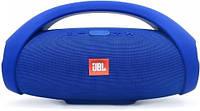 Беспроводная колонка JBL Booms Box mini, синяя Качественная реплика