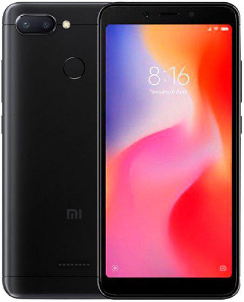 Смартфон Xiaomi Redmi 6 3/32Gb Global Version Black Гарантия 3 месяца / 12 месяцев