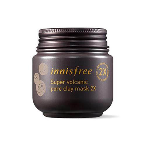 Интенсивная очищающая маска Innisfree Super Volcanic Pore Clay Mask 2X
