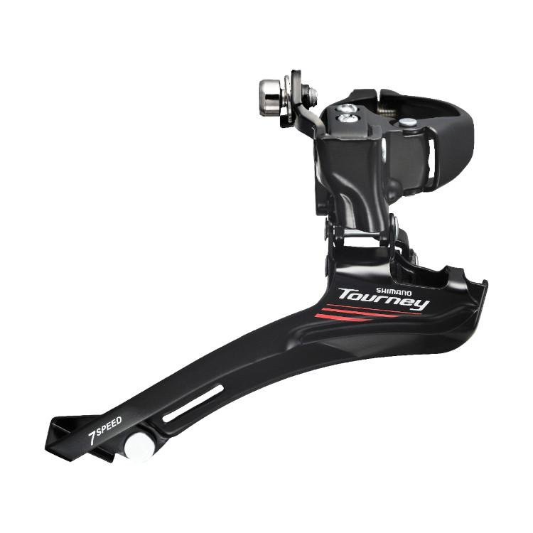 Переключатель передний Shimano FD-A070 2x7 нижняя тяга, крепл. 31,8/34,9 мм, max 50Т