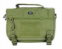 Тактическая наплечная сумка MFH 30695B цвет олива
