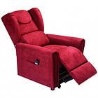 Подъемное кресло с двумя моторами, Bergere (красное), фото 4