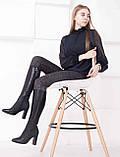 Женские кожаные сапоги с заостренным носком  Возможен отши в вдругих цвета кожи и замши , фото 3
