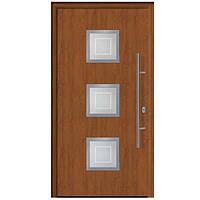 Входные двери в дом Thermo65 Hormann, Dark Oak