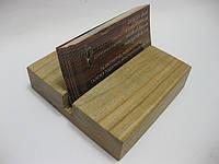 Визитница деревянная №3